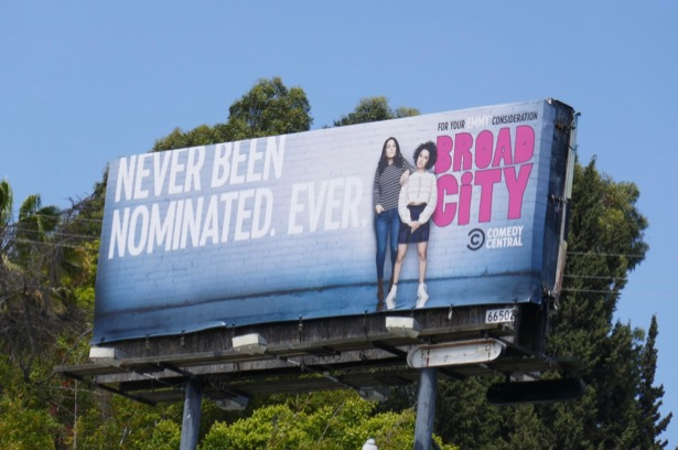 Broad City final season Emmy FYC billboard