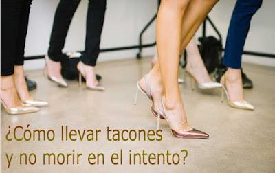 trucos para llevar zapatos tacon