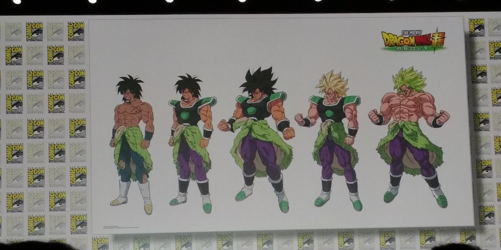 Diseño personaje Broly 2019 - Dragon Ball Super OVA