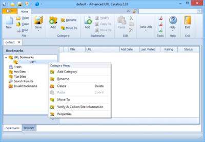 Screenshot Advanced URL Catalog 2.36 Full Version