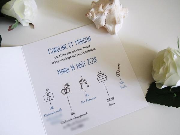 Mes faire-part de mariage (avec du DIY)