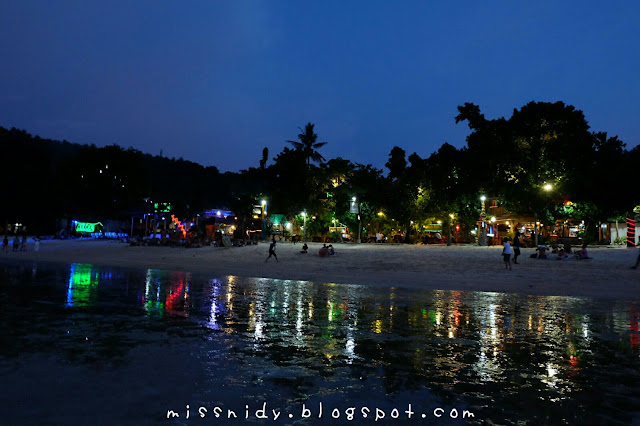 night life in phiphi island thailand