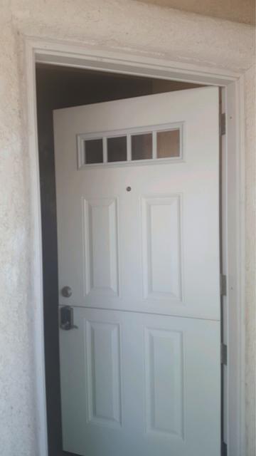 Now The Dutch Door Acts Like A Single Door.