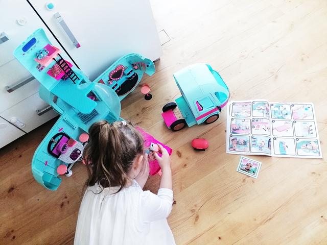 kamper LOL zabawa super prezent dla dziewczynki w wieku przedszkolnym