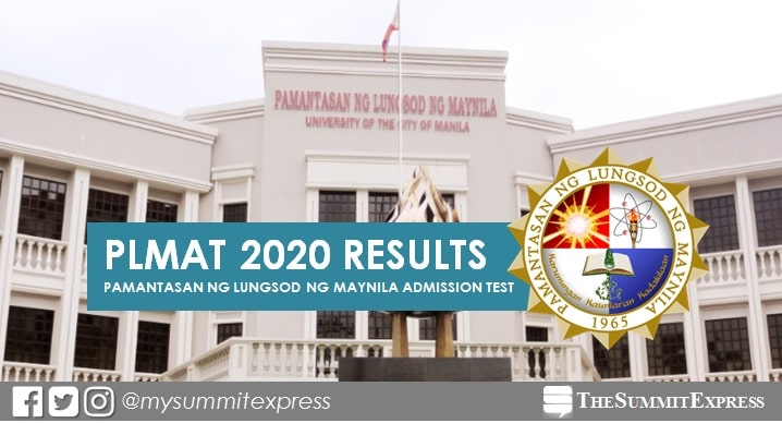 LIST OF PASSERS: PLMAT Results for SY 2020-2021