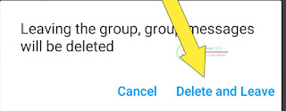 Delete or Leave Imo Group - Removal Imo Groups