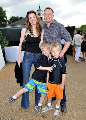 Elon musk's wife Justin Musk
