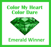 Color Dare Emerald Winner
