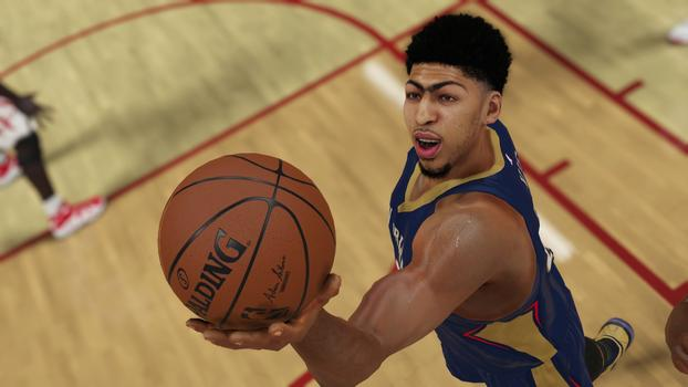 Anthony Davis NBA 2K15 Screenshot