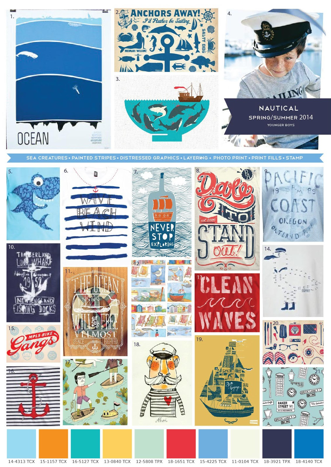 Emily Kiddy: Boys Trend - Spring Summer 2014 - Nautical