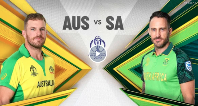 Australia vs SouthAfrica, Live Streaming, Match 45th World Cup 2019