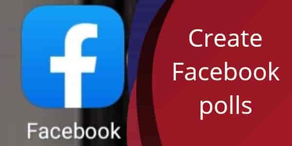 Facebook poll kaise create kare