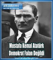 CHP Cumhuriyet Halk Partisi, Cumhuriyet Tarihi, Demokrasi Meselesi, falih rıfkı atay, mustafa kemal atatürk, slider, Yakın Tarih,