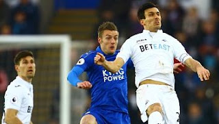Video Gol Swansea City vs Leicester City 2-0 Liga Inggris