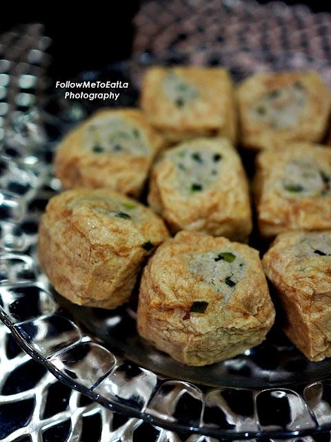 Nanny's Houz Signature Guangxi Taufu Pok Or Stuffed Bean Curd Puffs
