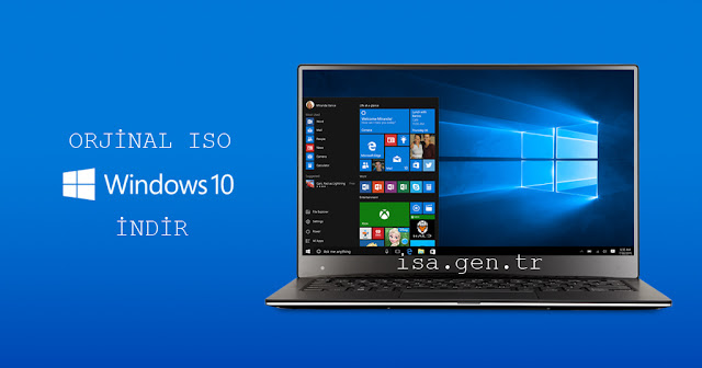 Window 10 formatlık iso indir