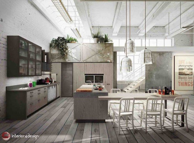 Industrial Style Decor 15