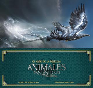 El arte de la película. Animales fantásticos y dónde encontrarlos.