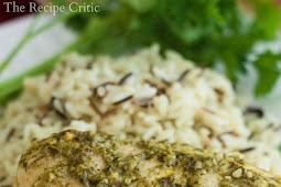 Easy Slow Cooker Pesto Ranch Chicken Recipe
