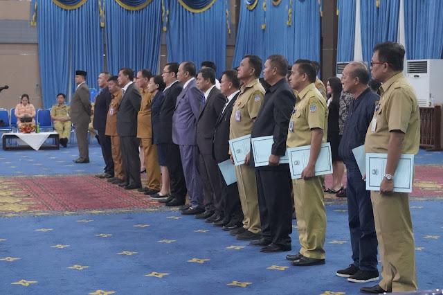 """GSVL - MOR lantik puluhan pejabat di lingkup Pemkot Manado   """"Ini daftar nama yang dilantik Wawali MOR"""""""
