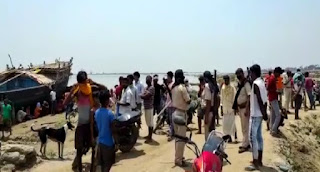 गंगा स्नान के दौरान डूबे तीन बच्चे, दो जान बचाने में रहे कामयाब, एक युवक की मौत