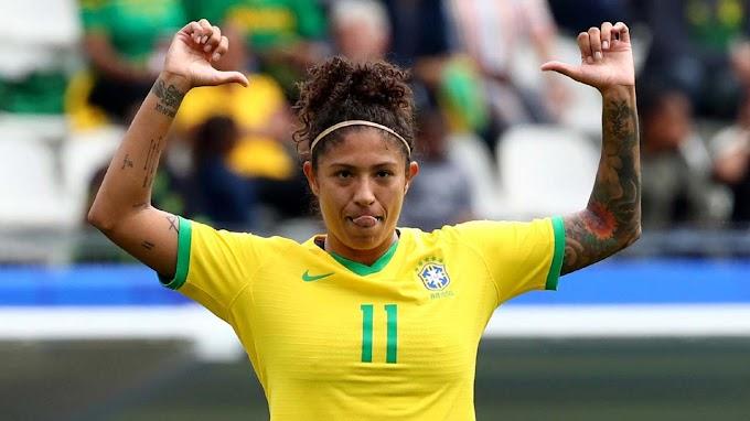 Cristiane dá show, marca três gols, e Brasil vence a Jamaica na Copa do Mundo