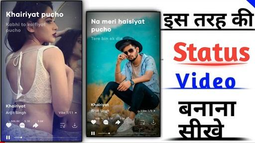 Latest Whatsapp Status Video Editing