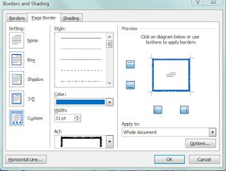 Cara Membuat Bingkai di Microsoft Word