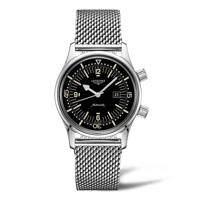 Longines Legend Diver Watch for Ladies L3.374.4.50.6