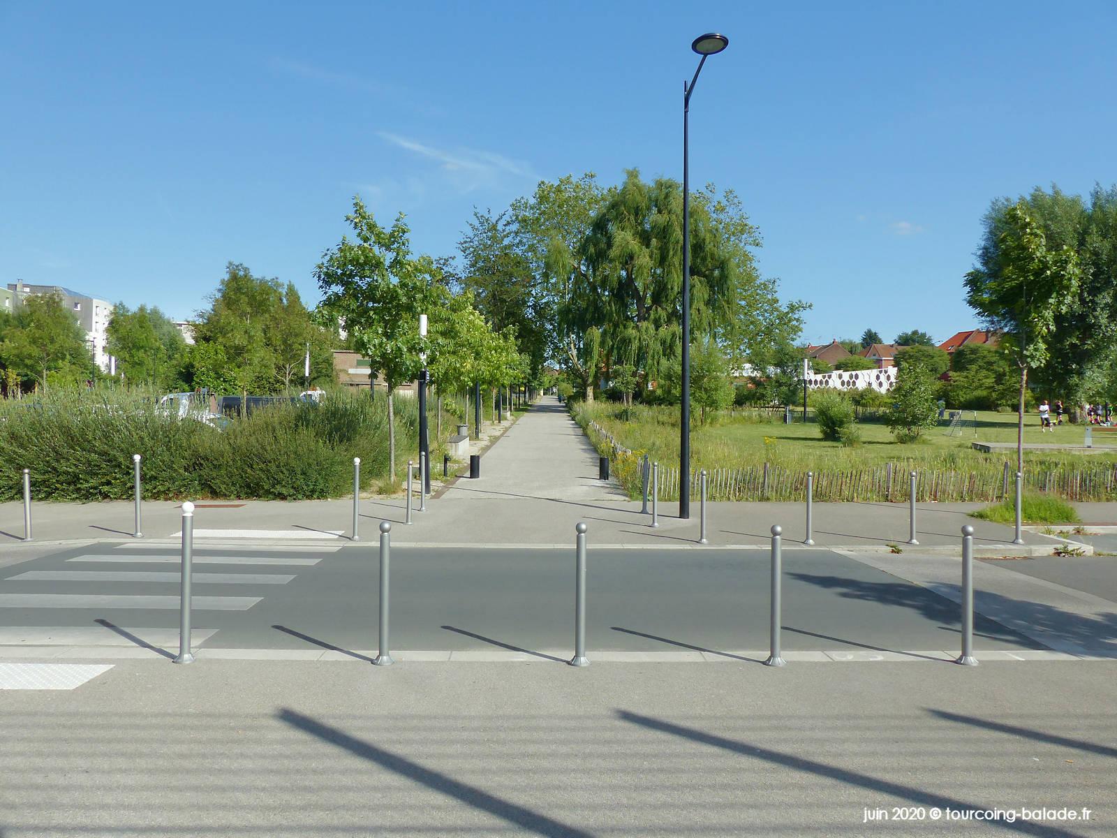 Promenade des Belles Rencontre et Avenue Kennedy, Tourcoing 2020