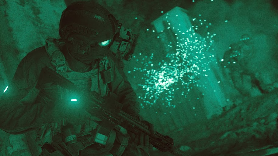 Call Of Duty Modern Warfare Soldiers Night Vision 4k