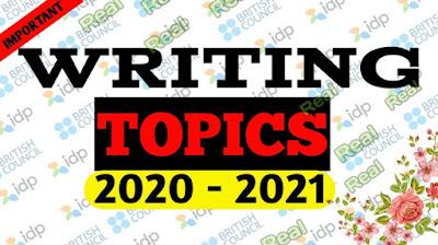ielts writing topics 2020