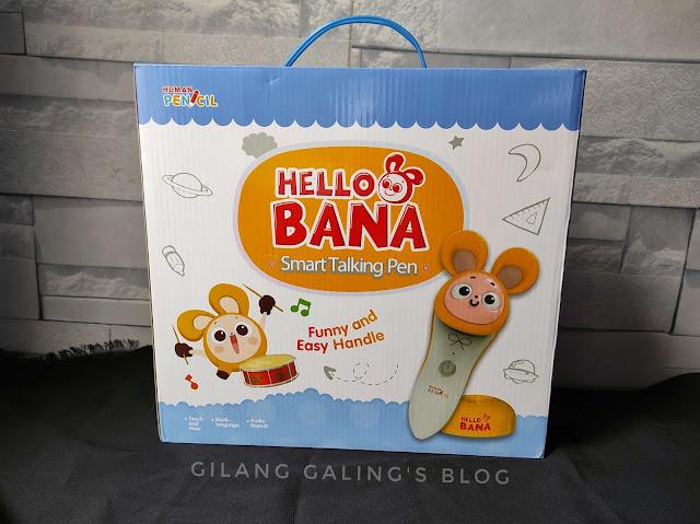 Smart Talking Pen Hello Bana memudahkan anak usia dini untuk belajar bahasa asing