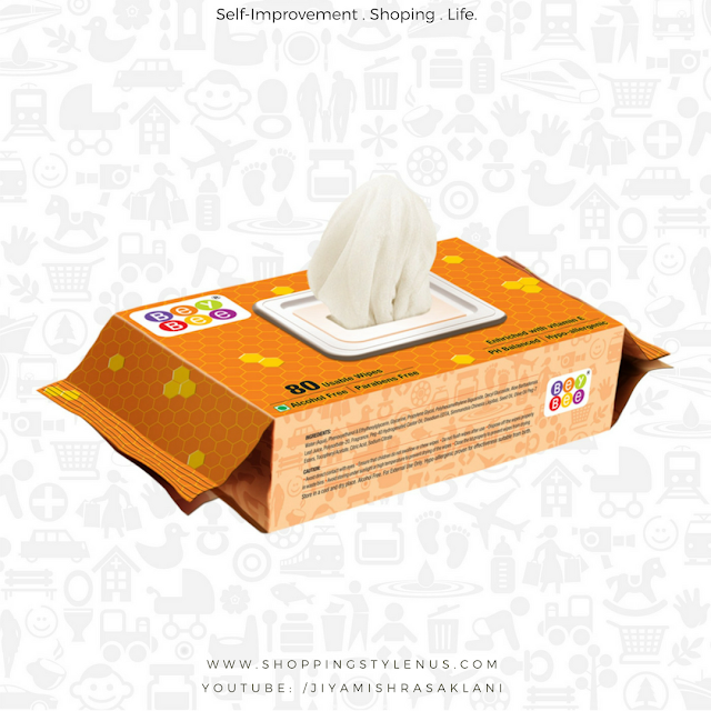 Shopping, Style and Us: India's Best Shopping and Self-help Blog - Bey Bee wet wipes usage. Though the wipes are mostly used for babies, even adults and elderly can use them. Each wipe is meant for a single use only to avoid cross-contamination.