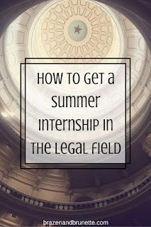 summer internships | brazenandbrunette.com