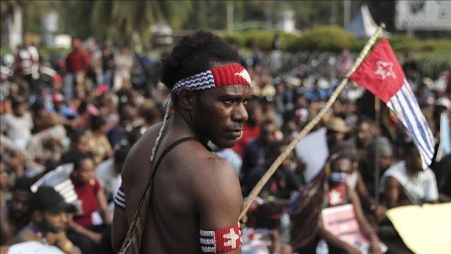demonstrasi di wamena papua