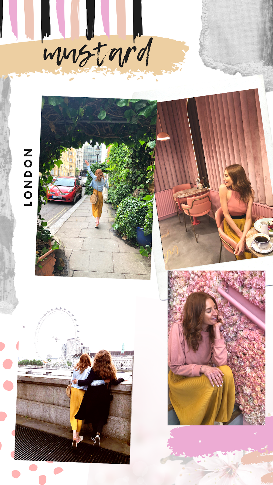 fashion blogger in london and amsterdam