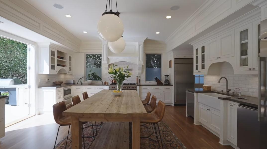 37 Interior Photos vs. 10723 Le Conte Ave, Los Angeles, CA Luxury Modern Rustic Home Tour