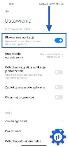 Jak wyłączyć blokadę aplikacji w MIUI