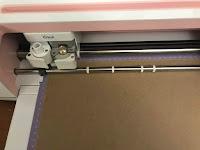 Cardboard sheet loaded