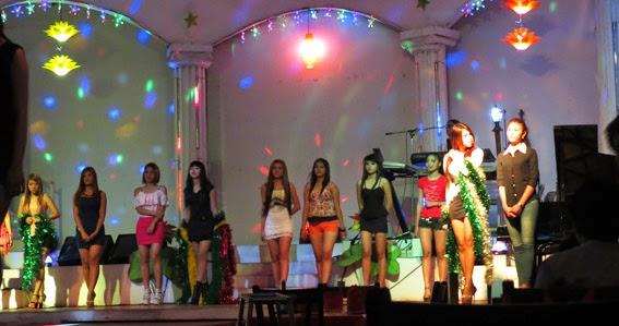 Pretty girls in Yangon