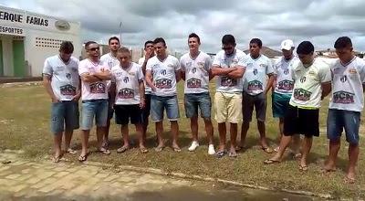 Atletas cobram apoio da prefeitura para reerguer futebol de Nova Palmeira