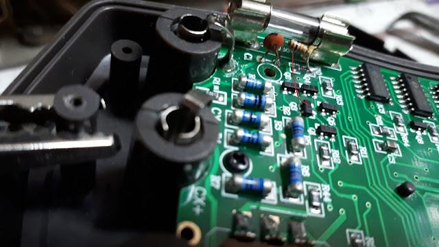 Измеритель емкости XC6013L схема  конденсаторов Тестер