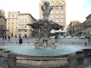 Plaza Barberini en Roma en bus turístico