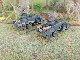 Lanchester armoured cars by QRF