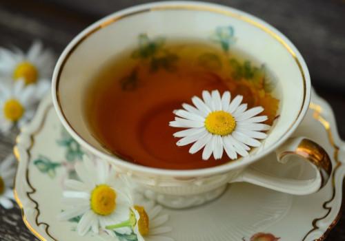 Chamomile Tea for tonsils