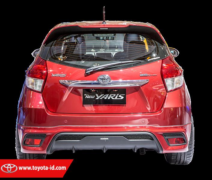 Harga Toyota New Yaris Trd 2014 All Camry Black Perbedaan Tipe E G Dan Sportivo Satu Lagi Yang Mendedakan Untuk Pad A Handel Pintu Berbentuk Grip Dengan Warna Chrome