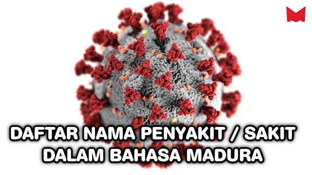 Daftar nama penyakit dalam bahasa madura