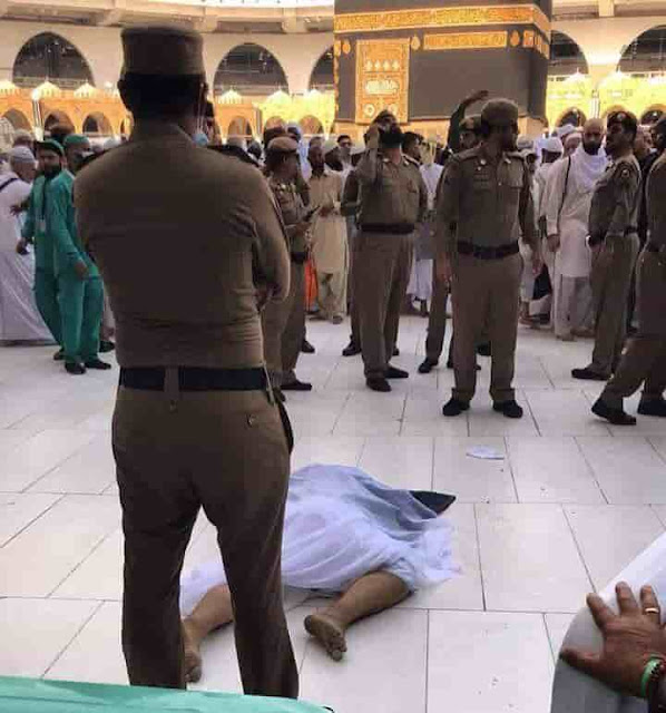 ARAB PILGRIM COMMITTED SUICIDE IN MAKKAH