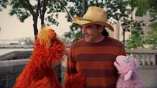 Ovejita and Murray, Sand paintings Joe Mangrum, people in your neighborhood, Sesame Street Episode 4316 Finishing the Splat season 43